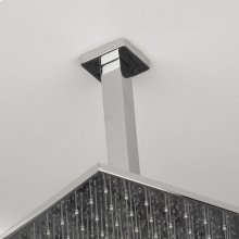 "Ceiling-mounted square shower arm, 8""H"