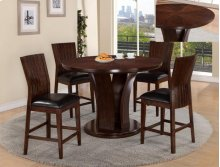 Daria 5-Piece Counter Height Dinette Espresso