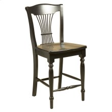 Model 90 Counter Stool Wood Seat