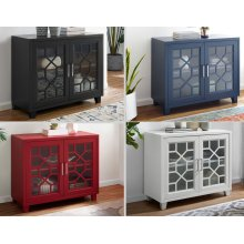 "Tuscany Accent cabinet Black 38""X15.75""X32"""