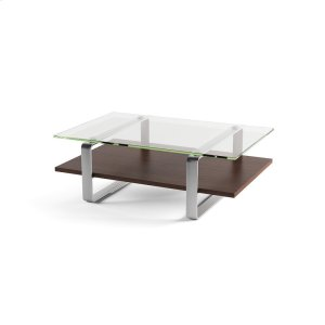 Bdi FurnitureCoffee Table 1642 in Chocolate Stained Walnut