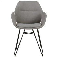 Zane Accent Chair in Grey