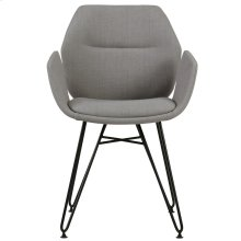 Zane Accent Chair in Grey