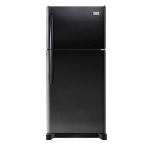 Gallery Custom-Flex 20.4 Cu. Ft. Top Freezer Refrigerator - EBONY BLACK