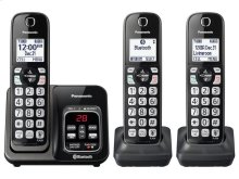 Link2Cell Bluetooth® Cordless Phone with Voice Assist and Answering Machine - 3 Handsets - KX-TGD563M