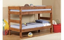 3310/3226  Saddlebrook Stackable Twin over Full Bunk Bed