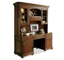 Bristol Court Credenza Hutch Cognac Cherry finish