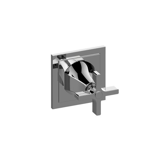 Finezza DUE Stop/Volume Control Trim Plate and Handle