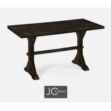 """54"""" Solid Dark Ale Dining Table"""
