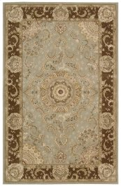 Nourison 2000 2236 Tar Rectangle Rug 7'9'' X 9'9''