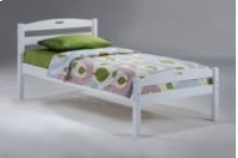 Sesame Bed in White Finish
