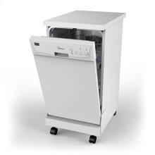 Portable 18 inch Dishwasher - Black