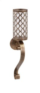 Marla Quadre Foil Wall Sconce Product Image