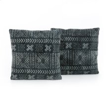 Mud Cloth Print Pillow-set of 2