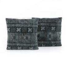Mud Cloth Print Pillow-set of 2