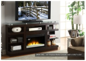 "Novella 65"" TV Console/Fireplace"