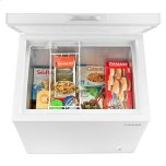 Amana 5.3 Cu. Ft. Compact Freezer With 2 Rollers - White