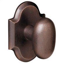 Distressed Venetian Bronze 5024 Oval Knob