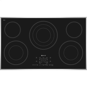 Jenn-Air36-Inch Electric Radiant Cooktop with Glass-Touch Electronic Controls