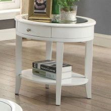 Silver Mist End Table