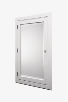 """Advance Wood and Mirror Recessed Wood Medicine Cabinet 25 3/16"""" x 35 5/8"""" x 4 7/16"""" STYLE: ADCB46"""