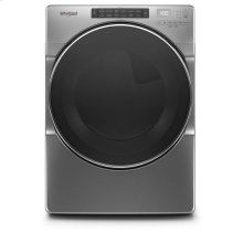 Whirlpool® 7.4 cu.ft Front Load Gas Dryer with Intiutitive Touch Controls, Wrinkle Shield™ Plus Option with Steam - Chrome Shadow