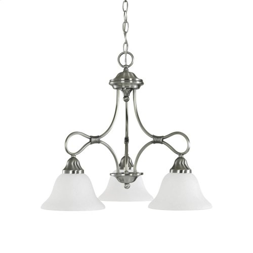 Stafford Collection Chandelier 3Lt AP