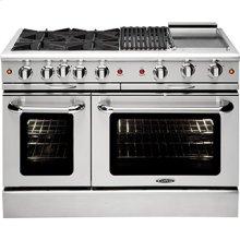 """Culinarian 48"""" Gas Manual Clean Range"""