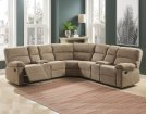 "Conan LAF Recliner Loveseat w/CN, Latte, 64""x37""x39"" Product Image"