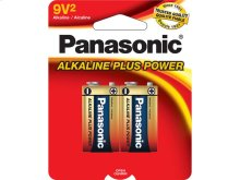 Alkaline Plus Power AA 9V 1-Pack