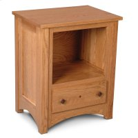 Royal Mission Nightstand with Opening Product Image