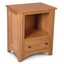 Royal Mission Nightstand with Opening
