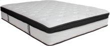Capri Comfortable Sleep 12 Inch Memory Foam and Pocket Spring Mattress, Full in a Box