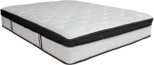 Capri Comfortable Sleep 12 Inch Memory Foam and Pocket Spring Mattress, Full in a Box