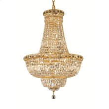 2528 Tranquil Collection Hanging Fixture Gold Finish