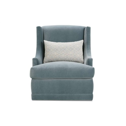 Lindsay Swivel Chair - no nailhead trim