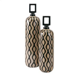 Floressa Jars with Stoppers - Set of 2
