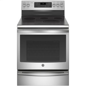 "GE ProfileGE Profile™ 30"" Smart Free-Standing Electric Convection Range"