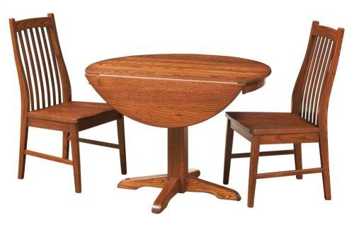 """38"""" Pedestal Drop Leaf Table"""