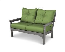 Slate Grey & Ginkgo Vineyard Deep Seating Settee