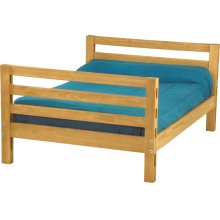 Double lower bed, extra-long