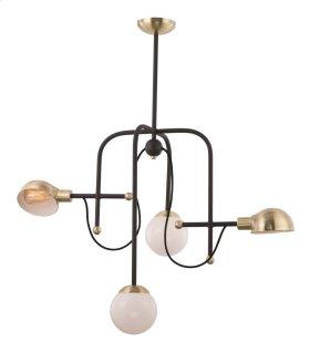 Mingle LED 4-Light Chandelier