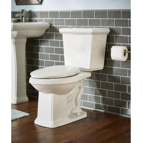 """Biscuit Logan Square 1.28 Gpf 12"""" Rough-in Two-piece Elongated Ergoheight Toilet"""