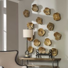 Tamarine Wood Wall Decor, S/3
