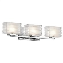 Bazely Collection Bazely 3 Light Halogen Wall Sconce CH CH