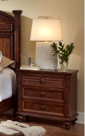 Compass Rose Nightstand