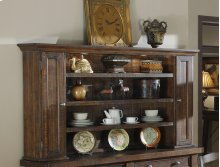 Emerald Home Castlegate Hutch Pine D942-65