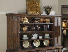 Emerald Home Castlegate Hutch Pine D942-65