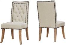 Garrett Beige Linen Dining Chair (Set of 2)