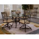Pompei 5pc Caster Dining Set Product Image